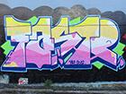 graffiti spelling FASTR
