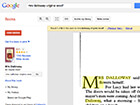 screenshot of Mrs Dalloway in Google Books