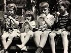 black-and-white-photo-of-children