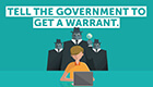 Tell the government to get a warrant
