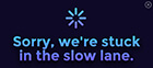mock-error-message-saying-we-are-stuck-in-the-slow-lane