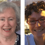 Joan Lippincott and Diane Goldenberg-Hart