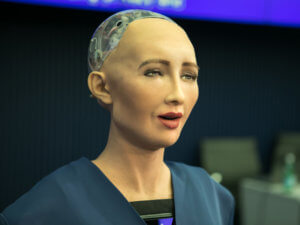robot that looks like a woman