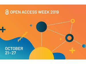 Open Access Week 2019 banner