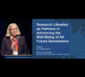 Mary Lee Kennedy Keynotes at LIANZA on Research Libraries Advancing Future Generations