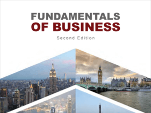 cropped cover of Fundamentals of Business textbook