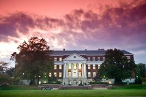 exterior of McKeldin Library, University of Maryland