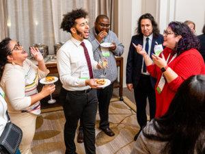 ARL diversity program participants at 2020 Leadership Symposium reception
