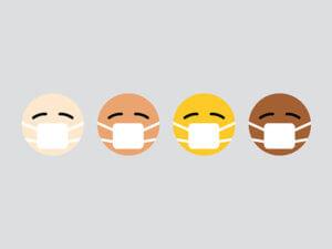 face mask emojis
