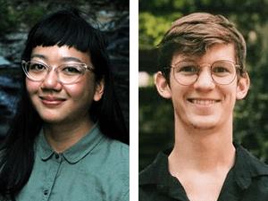 photos of Jen Liu and Jake Tompkins
