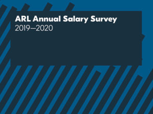cropped version of ARL Annual Salary Survey 2019–2020 cover