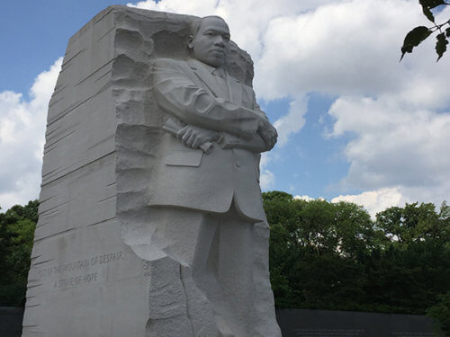 photo of MLK Jr memorial