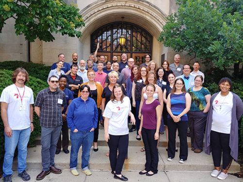 group photo of CS3DP National Forum 2 participants